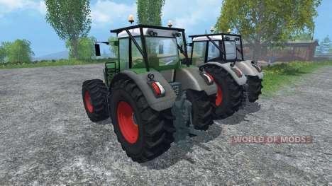 Fendt 936 Vario Forst Edition для Farming Simulator 2015