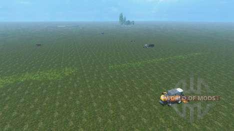 Чистая карта для Farming Simulator 2015