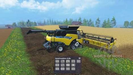 Помощник комбайнёра для Farming Simulator 2015