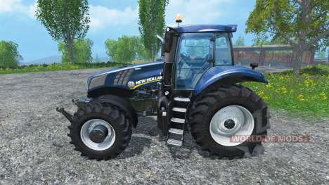 New Holland T8.485 2014 Blue Power Plus для Farming Simulator 2015