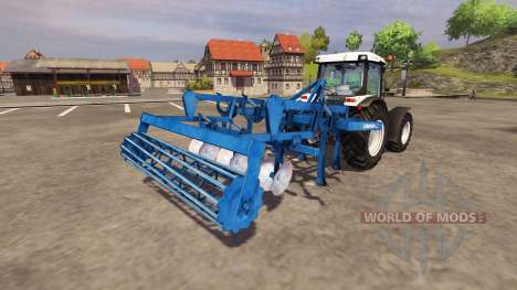 Культиватор Lemken Smaragd 7-300 1991 v2.2 для Farming Simulator 2013