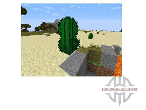 Лучше листья и трава для Minecraft