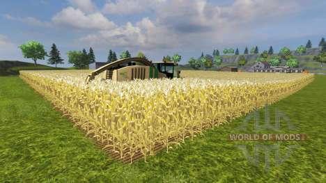 Увеличение урожая кукурузы для Farming Simulator 2013