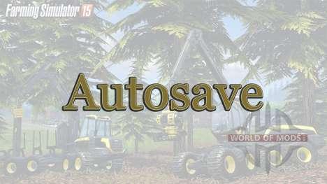 Автосохранение для Farming Simulator 2015