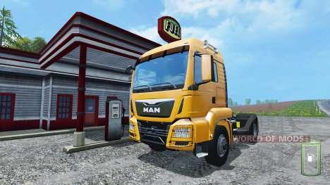 Ручная заправка топливом для Farming Simulator 2015