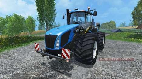 New Holland T9.560 wide tires для Farming Simulator 2015