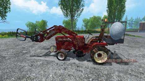 Hoftraktor HT13E FL dirt для Farming Simulator 2015