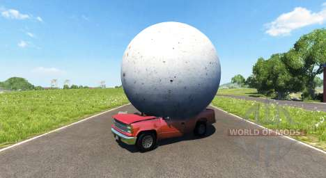 Каменный шар для BeamNG Drive