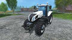 New Holland T8.435 v1.2 для Farming Simulator 2015