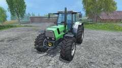 Deutz-Fahr AgroStar 6.61 Breitreifen для Farming Simulator 2015
