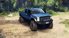 Ford F-350 Super Duty 6.8 2008 v0.1.0 blue для Spin Tires