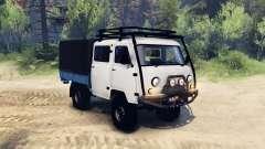 УАЗ-390945 Фермер для Spin Tires