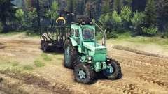 Трактор Т-40АМ v1.1 green для Spin Tires