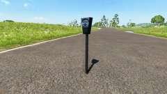 Парковочный счётчик для BeamNG Drive