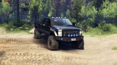 Ford F-350 Super Duty 6.8 2008 v0.1.0 black для Spin Tires