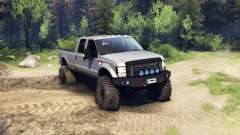 Ford F-350 Super Duty 6.8 2008 v0.1.0 silver для Spin Tires