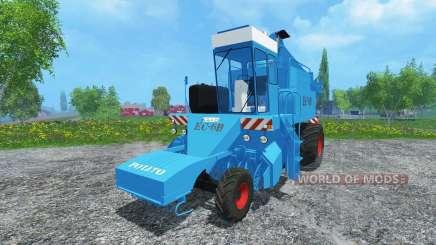 Свеклоуборочный комбайн КС-6Б clean для Farming Simulator 2015