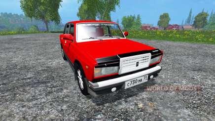 ВАЗ-2107 для Farming Simulator 2015
