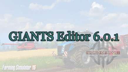 GIANTS Editor 6.0.1 для Farming Simulator 2015