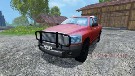 Dodge Ram Service для Farming Simulator 2015