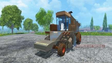 Свеклоуборочный комбайн КС-6Б dirt для Farming Simulator 2015