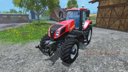 New Holland T8.485 2014 Red Power Plus v1.2 для Farming Simulator 2015
