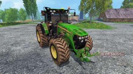 John Deere 7930 dirt для Farming Simulator 2015