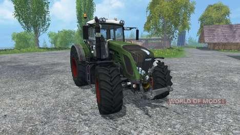Fendt 933 Vario v2.0 для Farming Simulator 2015