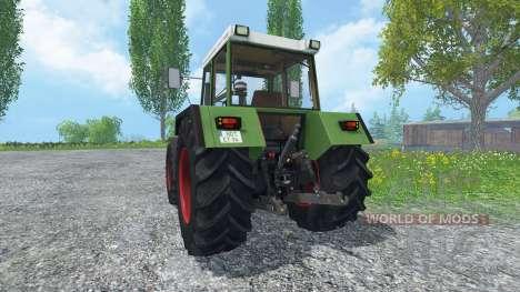 Fendt Favorit 615 LSA Turbomatik v4.0 для Farming Simulator 2015
