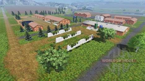 Локация На берегу реки для Farming Simulator 2013