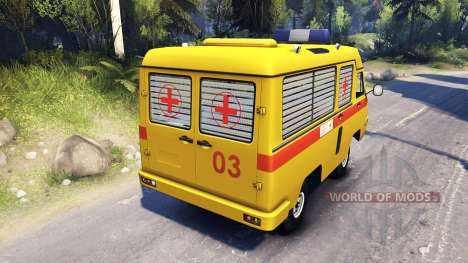 УАЗ 2925 САРЗ для Spin Tires