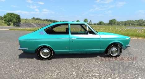 Toyota Corolla Sprinter 1969 для BeamNG Drive