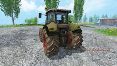 CLAAS Axion 820 v4.0 dirt для Farming Simulator 2015