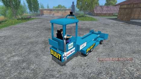 Brake Trailer для Farming Simulator 2015