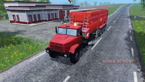 КрАЗ 5133 для Farming Simulator 2015