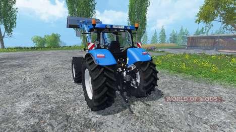 New Holland T7.040 для Farming Simulator 2015