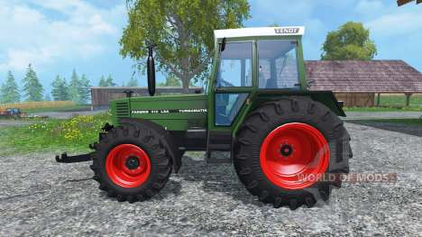 Fendt Farmer 310 LSA Turbomatik для Farming Simulator 2015