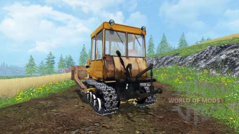 ДТ 75МЛ для Farming Simulator 2015
