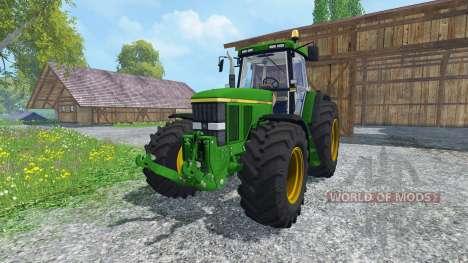 John Deere 7810 v2.0 для Farming Simulator 2015