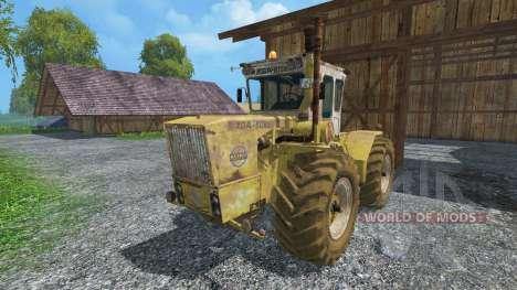 RABA Steiger 250 WSB dirt для Farming Simulator 2015