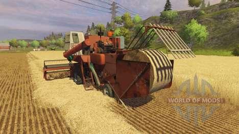 СК 5М 1 Hива для Farming Simulator 2013