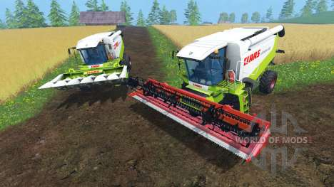 CLAAS Lexion 550 и 560TT для Farming Simulator 2015