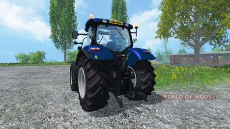 New Holland T6.160 Golden Jubilee v1.1 для Farming Simulator 2015