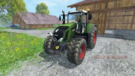 Fendt 828 Vario full script для Farming Simulator 2015