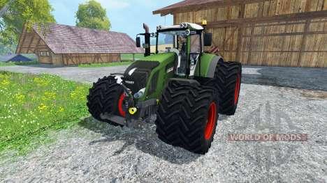 Fendt 828 Vario Twin Wheels для Farming Simulator 2015