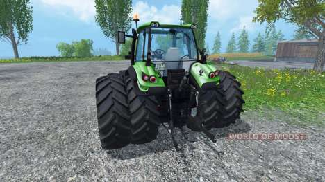 Deutz-Fahr Agrotron 6190 TTV для Farming Simulator 2015