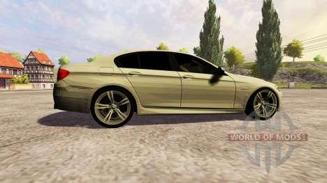 BMW 535i 2010 для Farming Simulator 2013