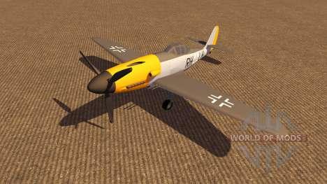 Самолёт Messerschmitt v3.0 для Farming Simulator 2013