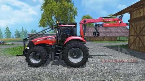 Case IH Magnum CVX 380 Forst v3.1 для Farming Simulator 2015