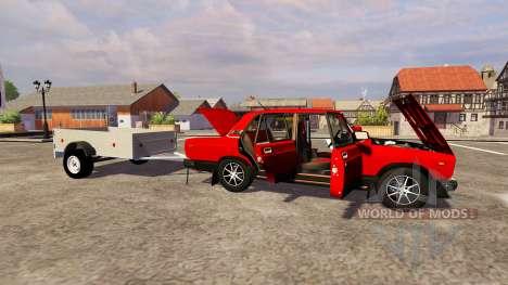ВАЗ 2107 для Farming Simulator 2013